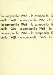Page 1, 1968 Edition, College High School - La Campanilla Yearbook (Upper Montclair, NJ) online yearbook collection