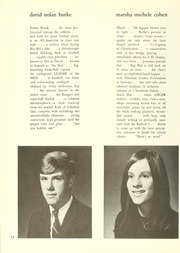 Page 16, 1968 Edition, College High School - La Campanilla Yearbook (Upper Montclair, NJ) online yearbook collection