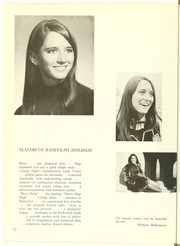 Page 16, 1969 Edition, College High School - La Campanilla Yearbook (Upper Montclair, NJ) online yearbook collection