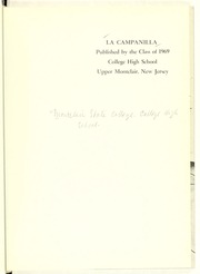 Page 5, 1969 Edition, College High School - La Campanilla Yearbook (Upper Montclair, NJ) online yearbook collection