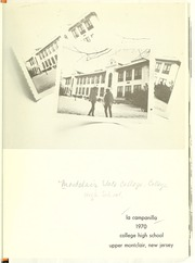 Page 5, 1970 Edition, College High School - La Campanilla Yearbook (Upper Montclair, NJ) online yearbook collection