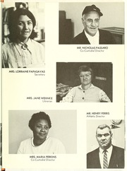 Page 9, 1970 Edition, College High School - La Campanilla Yearbook (Upper Montclair, NJ) online yearbook collection
