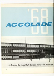 Page 6, 1968 Edition, St Francis de Sales High School - Accolade Yearbook (Toledo, OH) online yearbook collection