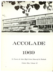 Page 6, 1969 Edition, St Francis de Sales High School - Accolade Yearbook (Toledo, OH) online yearbook collection