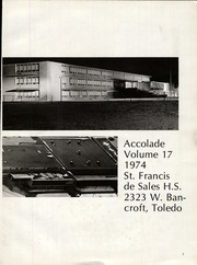 Page 7, 1974 Edition, St Francis de Sales High School - Accolade Yearbook (Toledo, OH) online yearbook collection