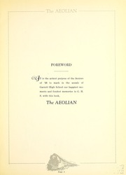 Page 11, 1926 Edition, Garrett High School - Aeolian Yearbook (Garrett, IN) online yearbook collection