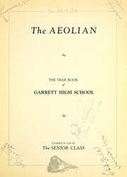 Page 9, 1926 Edition, Garrett High School - Aeolian Yearbook (Garrett, IN) online yearbook collection