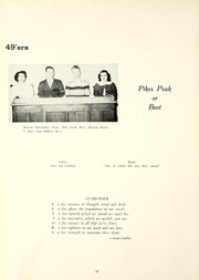 Page 16, 1949 Edition, Garrett High School - Aeolian Yearbook (Garrett, IN) online yearbook collection