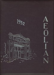 1952 Edition, Garrett High School - Aeolian Yearbook (Garrett, IN)