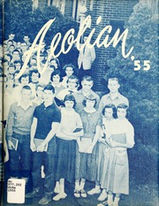 1955 Edition, Garrett High School - Aeolian Yearbook (Garrett, IN)