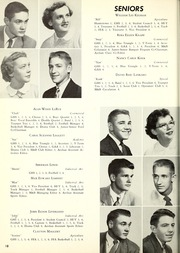 Page 22, 1955 Edition, Garrett High School - Aeolian Yearbook (Garrett, IN) online yearbook collection