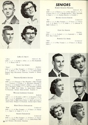 Page 24, 1955 Edition, Garrett High School - Aeolian Yearbook (Garrett, IN) online yearbook collection