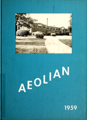 Garrett High School - Aeolian Yearbook (Garrett, IN) online yearbook collection, 1959 Edition, Page 1