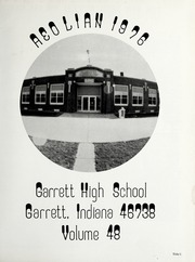 Page 5, 1976 Edition, Garrett High School - Aeolian Yearbook (Garrett, IN) online yearbook collection