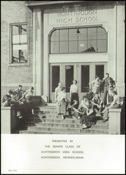 Page 8, 1954 Edition, Huntingdon Area High School - Argus Yearbook (Huntingdon, PA) online yearbook collection