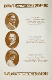 Page 16, 1916 Edition, Martinsville High School - Artesian Yearbook (Martinsville, IN) online yearbook collection
