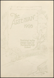Page 9, 1928 Edition, Martinsville High School - Artesian Yearbook (Martinsville, IN) online yearbook collection