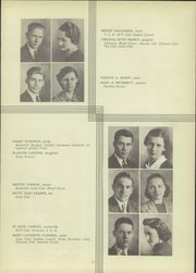 Page 17, 1938 Edition, Martinsville High School - Artesian Yearbook (Martinsville, IN) online yearbook collection