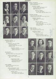 Page 17, 1941 Edition, Martinsville High School - Artesian Yearbook (Martinsville, IN) online yearbook collection