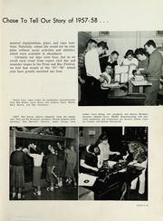 Page 9, 1958 Edition, Martinsville High School - Artesian Yearbook (Martinsville, IN) online yearbook collection