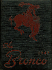 Page 1, 1947 Edition, Sonora High School - Bronco Yearbook (Sonora, TX) online yearbook collection