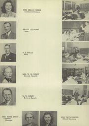 Page 12, 1947 Edition, Sonora High School - Bronco Yearbook (Sonora, TX) online yearbook collection