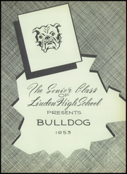 Page 7, 1953 Edition, Linden High School - Bulldog Yearbook (Linden, IN) online yearbook collection