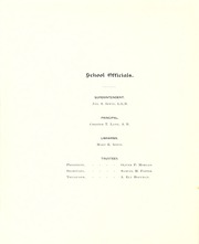 Page 16, 1896 Edition, Central High School Fort Wayne - Caldron Yearbook (Fort Wayne, IN) online yearbook collection