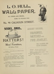 Page 7, 1901 Edition, Central High School Fort Wayne - Caldron Yearbook (Fort Wayne, IN) online yearbook collection