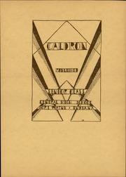Page 11, 1929 Edition, Central High School Fort Wayne - Caldron Yearbook (Fort Wayne, IN) online yearbook collection