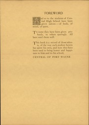 Page 13, 1929 Edition, Central High School Fort Wayne - Caldron Yearbook (Fort Wayne, IN) online yearbook collection
