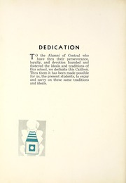 Page 8, 1931 Edition, Central High School Fort Wayne - Caldron Yearbook (Fort Wayne, IN) online yearbook collection