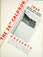 Page 5, 1939 Edition, Central High School Fort Wayne - Caldron Yearbook (Fort Wayne, IN) online yearbook collection
