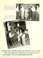 Page 9, 1955 Edition, Central High School Fort Wayne - Caldron Yearbook (Fort Wayne, IN) online yearbook collection
