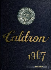 1967 Edition, Central High School Fort Wayne - Caldron Yearbook (Fort Wayne, IN)