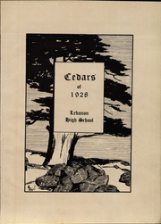 Page 7, 1928 Edition, Lebanon High School - Cedars Yearbook (Lebanon, IN) online yearbook collection