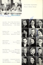 Page 10, 1938 Edition, Lebanon High School - Cedars Yearbook (Lebanon, IN) online yearbook collection