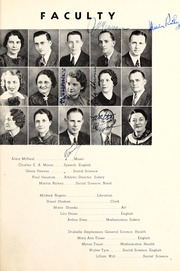 Page 11, 1938 Edition, Lebanon High School - Cedars Yearbook (Lebanon, IN) online yearbook collection