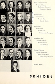 Page 17, 1938 Edition, Lebanon High School - Cedars Yearbook (Lebanon, IN) online yearbook collection