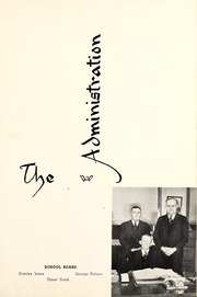 Page 9, 1938 Edition, Lebanon High School - Cedars Yearbook (Lebanon, IN) online yearbook collection