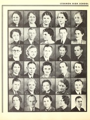 Page 14, 1939 Edition, Lebanon High School - Cedars Yearbook (Lebanon, IN) online yearbook collection