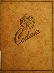 Page 1, 1942 Edition, Lebanon High School - Cedars Yearbook (Lebanon, IN) online yearbook collection