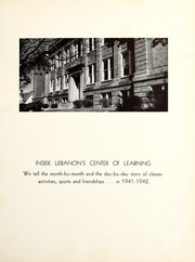 Page 7, 1942 Edition, Lebanon High School - Cedars Yearbook (Lebanon, IN) online yearbook collection