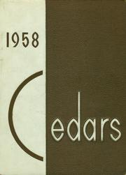Page 1, 1958 Edition, Lebanon High School - Cedars Yearbook (Lebanon, IN) online yearbook collection