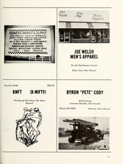 Page 201, 1971 Edition, Cobre High School - Chieftain Yearbook (Bayard, NM) online yearbook collection