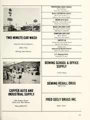 Page 207, 1971 Edition, Cobre High School - Chieftain Yearbook (Bayard, NM) online yearbook collection