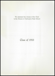 Page 5, 1953 Edition, Darlington High School - Chief Yearbook (Darlington, IN) online yearbook collection