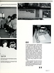Page 15, 1985 Edition, Richmond Heights High School - Yearbook (Richmond Heights, OH) online yearbook collection