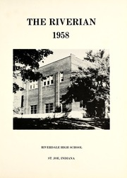 Page 5, 1958 Edition, Riverdale High School - Riverian Yearbook (St Joe, IN) online yearbook collection