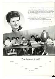 Page 10, 1961 Edition, Roann High School - Ro Annual Yearbook (Roann, IN) online yearbook collection